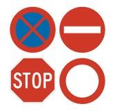 注意标志 免版税库存照片