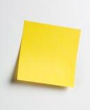 注意粘性黄色 库存图片