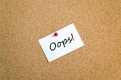 注意粘性 免版税库存图片