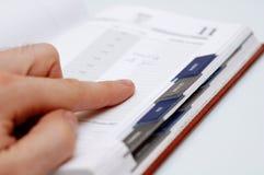 注意计划程序 免版税库存图片
