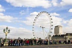 注视伦敦 免版税库存图片