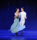 注视到每其他doga华尔兹这奥地利的世界舞蹈里 库存图片
