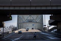 泰勒Southgate桥梁-俄亥俄河 图库摄影