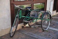 泰国三个轮子车 免版税库存照片