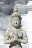 泰国上帝玩偶sawaddee 免版税图库摄影