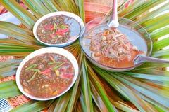 泰国东北部的食物 图库摄影
