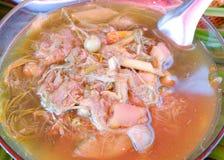 泰国东北部的食物 库存照片
