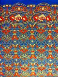 泰国丝绸纺织品 库存照片