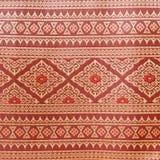 泰国丝绸的纹理 库存照片