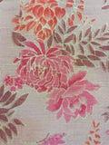 泰国丝绸纺织品样式 库存照片