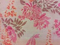 泰国丝绸纺织品 图库摄影