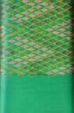 泰国丝绸主题样式。 免版税库存图片