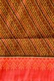 泰国丝绸主题样式。 库存照片