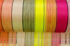 泰国丝绸 库存图片