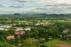泰国乡下看法  免版税库存照片