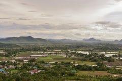 泰国乡下看法  图库摄影