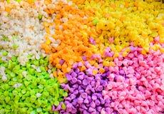 泰国五颜六色的点心 免版税库存照片