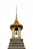 泰国五颜六色的钟楼 免版税图库摄影