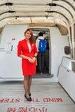 泰国亚洲航空 免版税库存照片