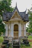 泰国亭子样式在阿尤特拉利夫雷斯 图库摄影