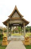 泰国亭子, Wat Sothornwararamworaviharn, Chachoengsao泰国 库存照片