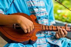 泰国仪器的音乐 库存图片