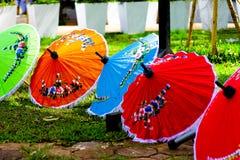 泰国伞 免版税库存照片