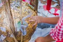 泰国传统,叫的就职典礼仪式 图库摄影