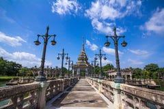 泰国传统亭子 免版税图库摄影