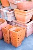 泰国传统黏土瓦器 免版税库存图片