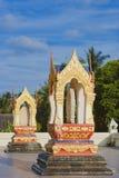 泰国传统寺庙 免版税库存照片