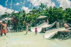 泰国公园 免版税库存照片