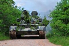 泰国军队野外训练 库存图片