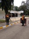 泰国军队 免版税库存照片