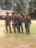 泰国军队 库存照片