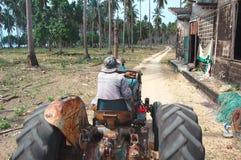 泰国农夫寿命 库存图片