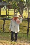 泰国农夫 库存照片