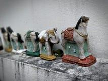 泰国动物小雕象 图库摄影
