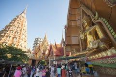 泰国北碧WAT THAM SUA寺庙 库存照片