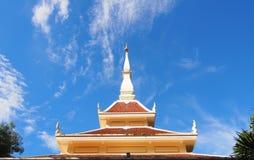泰国北部东部传统寺庙 库存图片