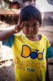 泰国卡伦小山部落 免版税库存照片