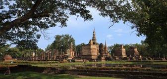 泰国历史的公园 免版税库存照片