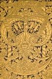泰国历史记录的模式 免版税图库摄影