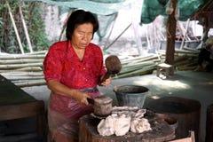 泰国古老工厂 库存图片