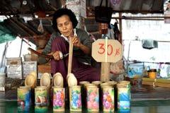 泰国古老工厂 图库摄影