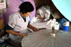 泰国古老工厂 免版税库存照片