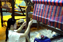 泰国古老工厂 库存照片