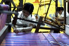 泰国古老工厂 免版税库存图片