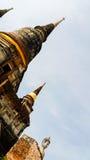 泰国古老的塔 库存图片