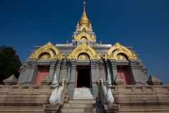 泰国古老的大厦 库存照片